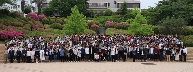 結束力の高まった参加者全員で記念撮影。