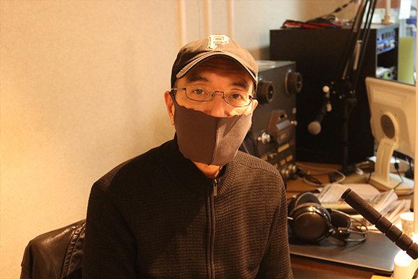 DJの山本さんは活動開始当初から学生を見守る