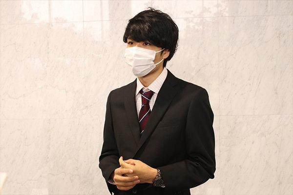 冬の芸術展実行委員長として奔走していた西村さん