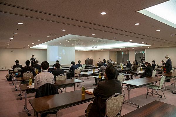 PRイベントは包括連携協定を結ぶ広島経済同友会と本学との共催で行われました。