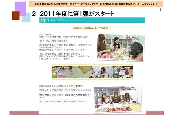 こだわりルームプロジェクトは2011年度に女子学生3人でスタート。10年目を迎える2021年度は40名を超える学生が参加予定