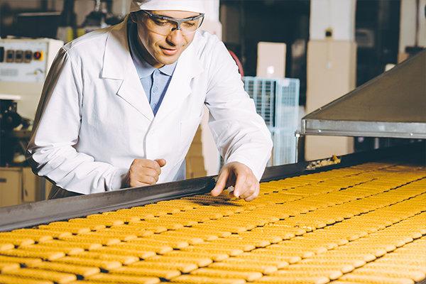 AIの画像認識を活用すれば、食品工場の不良品チェックを目視で行う必要はなくなります。(イメージ写真)