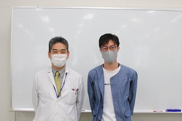 前田准教授のゼミ出身である寺川さん