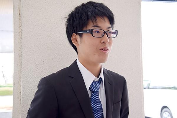 「自治会執行部としては、上下関係なく部員同士が意見を言い合える雰囲気づくりを心がけ、活発化を図っていきたい」と田中さん。