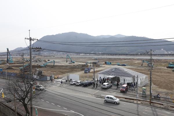 福山市千代田町。再開発が進む旧福山競馬場の跡地の一角に、その建物はあります。