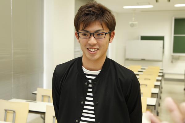 「一級建築士になるのが夢なので、発展トラックのプログラムを活用して自分を成長させていきたいです」と坂本君。