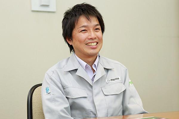 「マツダは、自分の意志を持って生き生きと働いている方が多いので、刺激を受けます」と塚本さん。
