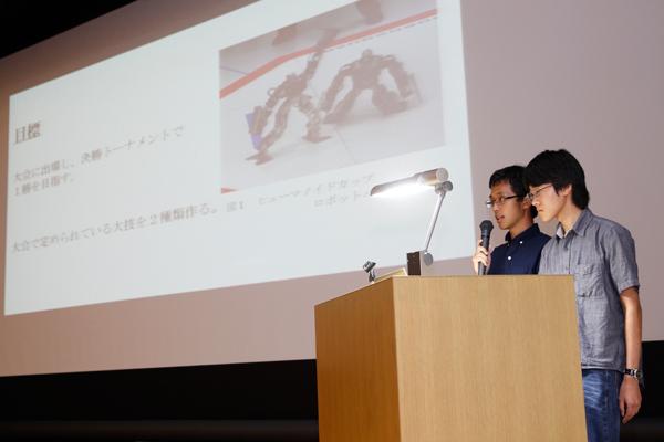 オープンキャンパスでHITチャレンジ制度のことを知った1年生を中心に結成されたHITチャレンジャー。大会で活躍することにより、広島工業大学、そしてHITチャレンジ制度のPRを行いたいと意欲に燃えています。