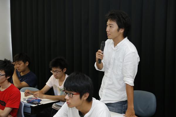 研究の詳細やその進め方について、自らの研究の参考にしようと、質問も多数あがりました。