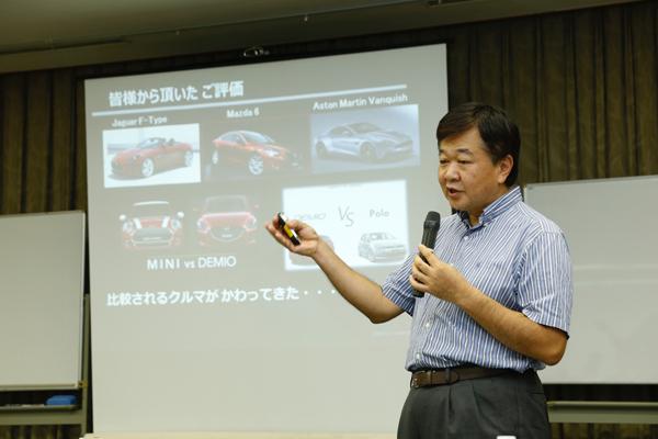 近年、大きな成長を遂げているマツダ。吉岡さんには、モノづくり革新のキーポイントや具体的な取り組みについて、詳細に語っていただきました。
