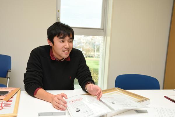 留学生をサポートする、大学の国際交流ボランティアの活動もしている吉田さん