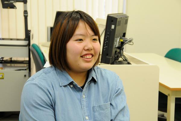 薮木舞さん「JCDの商品開発プロジェクトでは、学内レストラン新メニュー開発のリーダーを経験。ますます食品企画開発者への夢が膨みました」