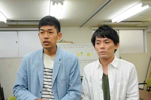 「防災を知ることや学ぶことで、自分たちの未来の行動に生かすことができます。そこが、この分野を学ぶ面白さだと思います」と井上さん(左)と白石さん(右)