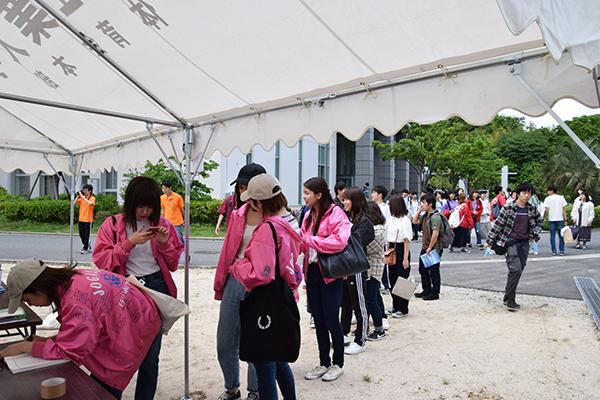 広島女学院大学や広島経済大学など、他大学の学生にもたくさん参加いただきました。