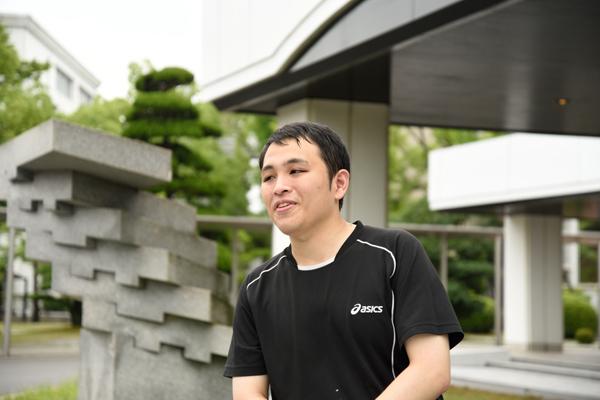 「鳥人間コンテストの出場を機に、もっと同好会のメンバーが増えたらと願っています」と藤田さん