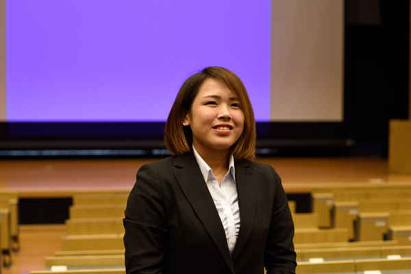 「HIT環境土木研究団」代表のナカノウチ礼さん