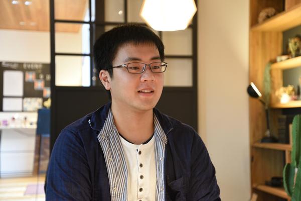 ゼミ長の伊藤謙さん