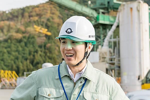 錦川総合開発事務所・中川さん「各プラントや現場を楽しみながら体験してもらえました。こういうことから興味を持ってもらえたら、と思います」