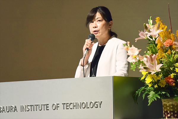 「IRデータは改善点の発見にもなり、弱みを強みに変えていくことができる」と、谷田川学長補佐。