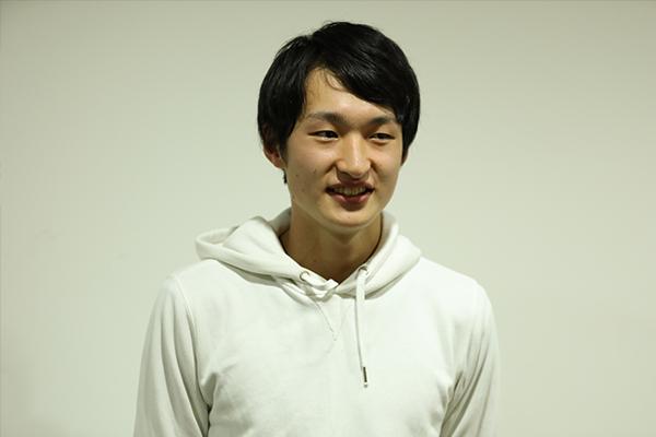 山根宏一朗さん(機械システム工学科3年)「若いうちから日本代表に選ばれるなど才能に恵まれた方だと思っていましたが、努力に努力を重ねてきた上での活躍だったことを知り、高い意識を持つことの大切さを感じました。チームの雰囲気が悪くなった時、声かけを大事にするというアドバイスは部活でも取り入れていきたいです」と山根さん。