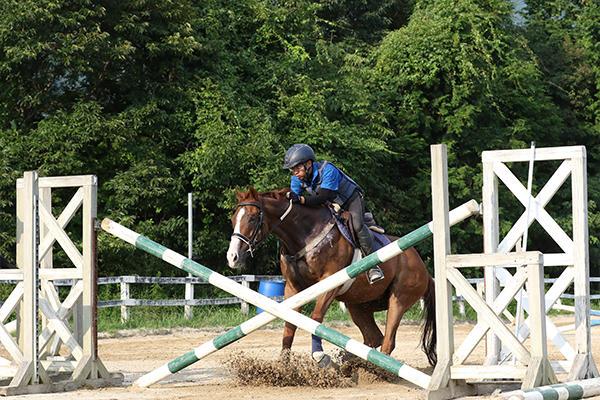 馬と呼吸が合わないと障害を飛ぶことはできません。騎手に不安や恐れがあるとその気持ちは馬にも伝わるそう。
