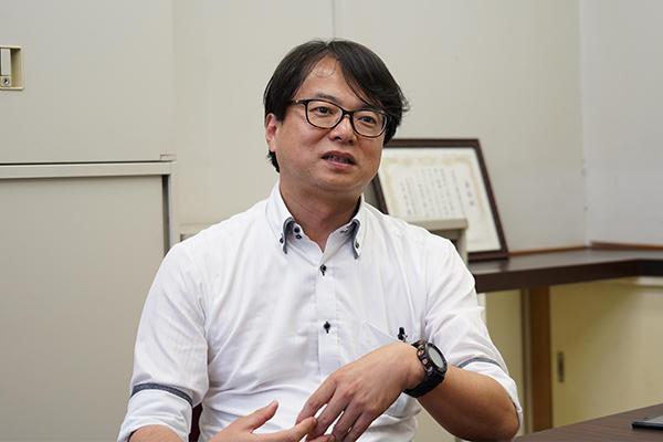 「IEはデータ重視で数値に現れる。学生の発表でも説得力が違うので企業側の信頼も大きい」と宗澤先生。