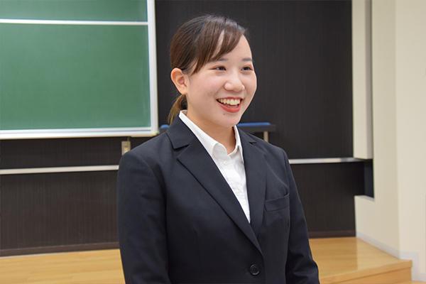 「今までにない経験を積むことができたので、参加してよかったです」と濱崎さん。