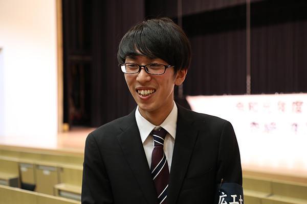 「次年度はまだお呼びしたことのないスポーツ競技から講演者をお招きしたい」と、展望を語る有岡さん。
