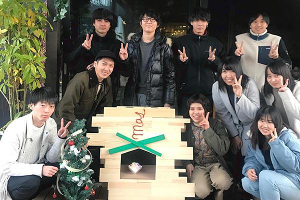 今回のイベントを実行した平田ゼミの学生さん。