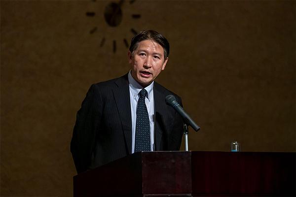 内閣府・政策統括官(科学技術・イノベーション担当)付 参事官の永井岳彦氏。