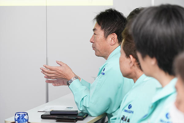 「この分析をもとに作業内容を見直し、改善につなげていきたい」と山本さんのデータを積極的に活用することを伝えてくれました。